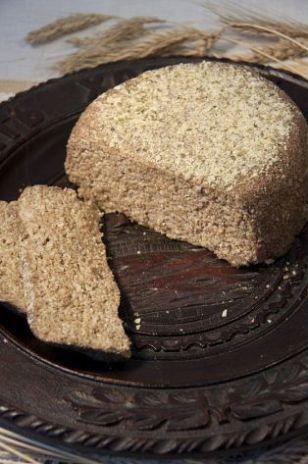 Сырой пшеничный хлеб