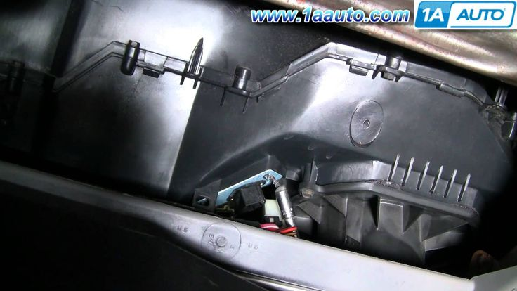cool How To Install Replace Heater AC Fan Speed Resistor Ford Taurus Mercury Sable 96-07 1AAuto.com