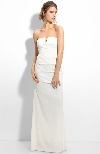 nordstrom. wedding dress