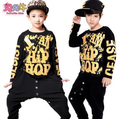 Прилив пачка ню джаз танец костюмы для детей юниорки хип-хоп хип-хоп хип-хоп производительность одежды для девочек  — 958.12р.