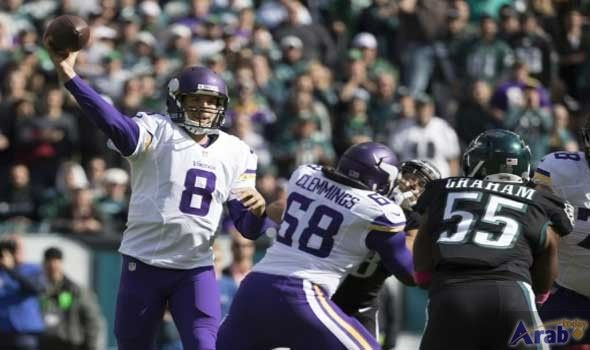 Eagles hand Vikings first defeat of NFL…
