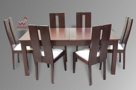 Detail of Annabela Dining Set   Indonesia Contemporary Furniture