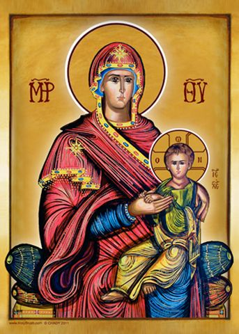 HolyBrush.com - Mother of God in Majesty, $34.95 (http://www.holybrush.com/mother-of-god-in-majesty/)