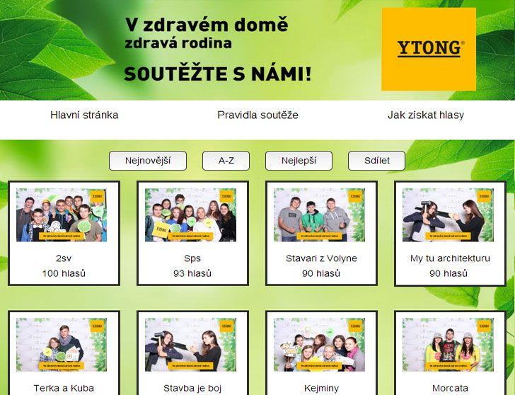 Nová soutěž, která je aktuálně stále spuštěná New contest, which is currently still running  Ytong soutěž - https://www.facebook.com/YtongCzech/app_333708080093324 #contest #sweepstake