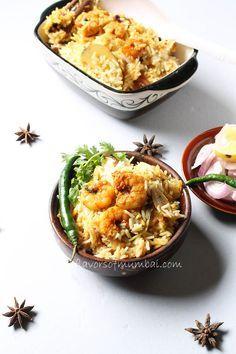 Prawns Biryani Recipe, How to make Prawns Biryani | Biryani Recipe