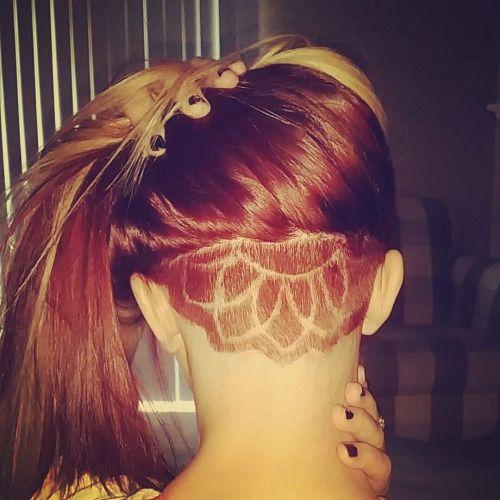 dyed undercut | Tumblr