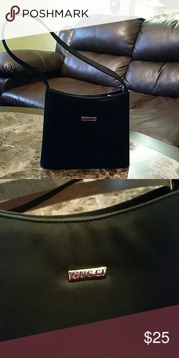 Elegant, black purse Not authentic GUCCI purse in excellent condition. Open to reasonable offers Bags
