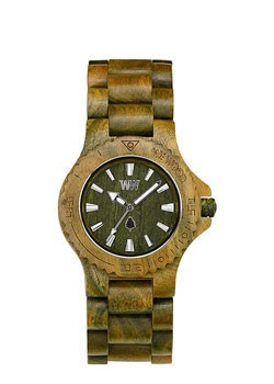 WeWOOD DATE ARMY   All wood watch