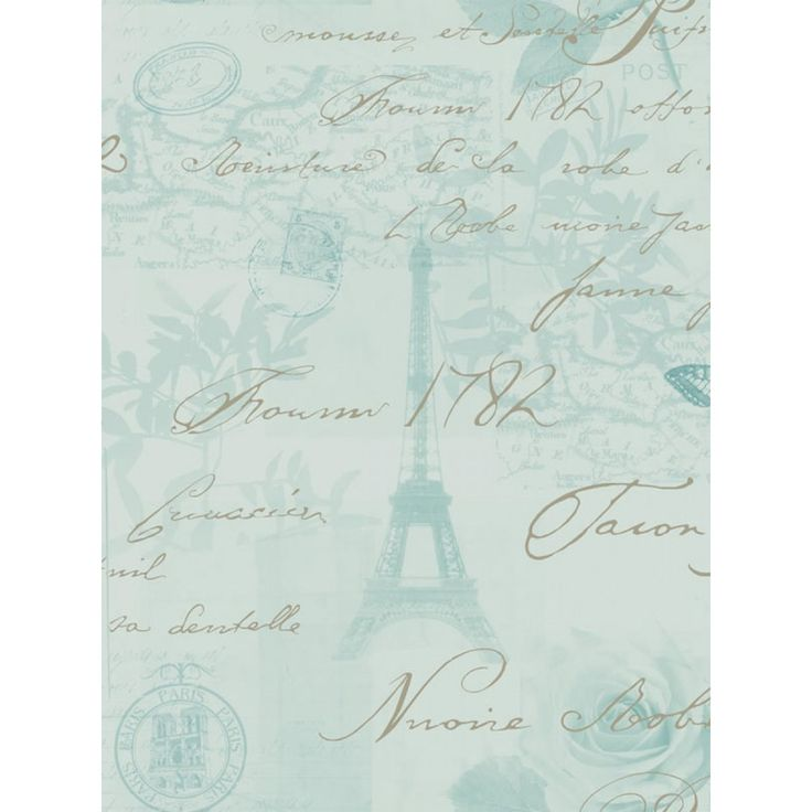 Stunning Paris postcard inspired wallpaper Features mica highlights for a glistening effect 10m (32.8 ft) long, 52cm (20.5 in) wide