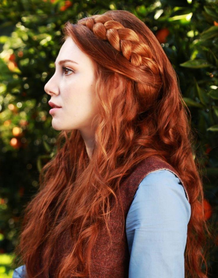 60 s redhead