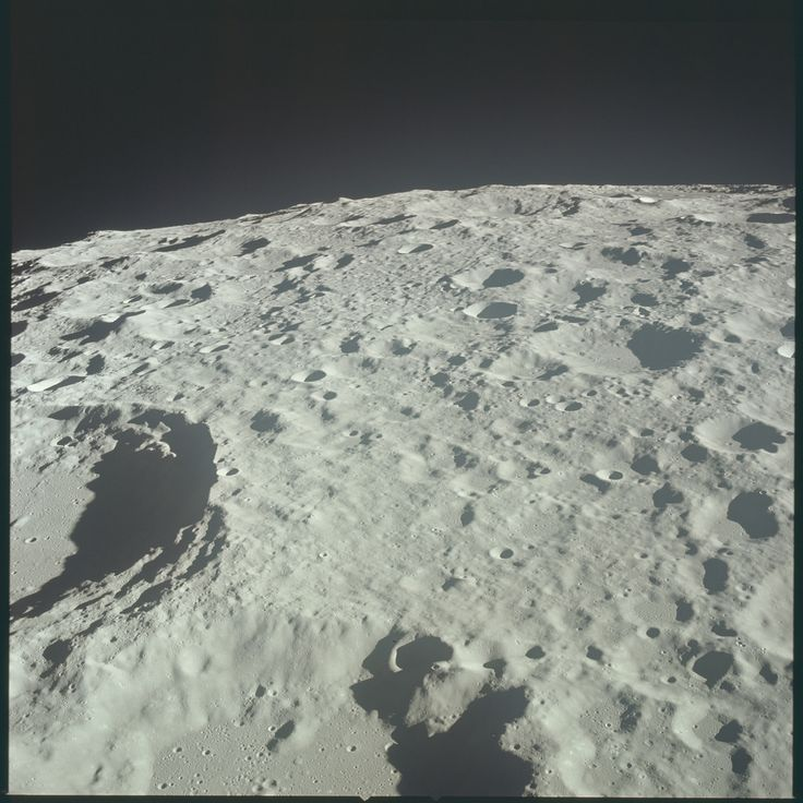 Apollo 11 Hasselblad image from film magazine 44/V - LM inspection, rendezvous