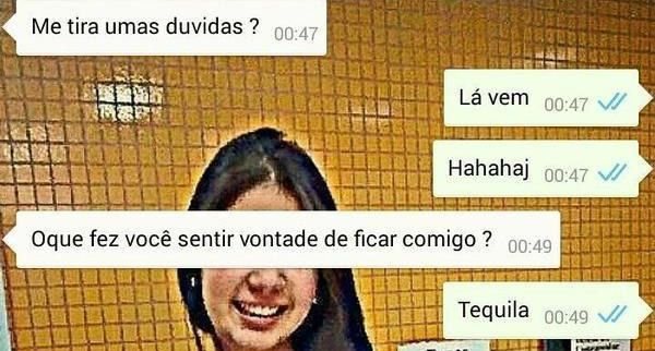 O melhor programa de humor que existe é o WhatsApp brasileiro.