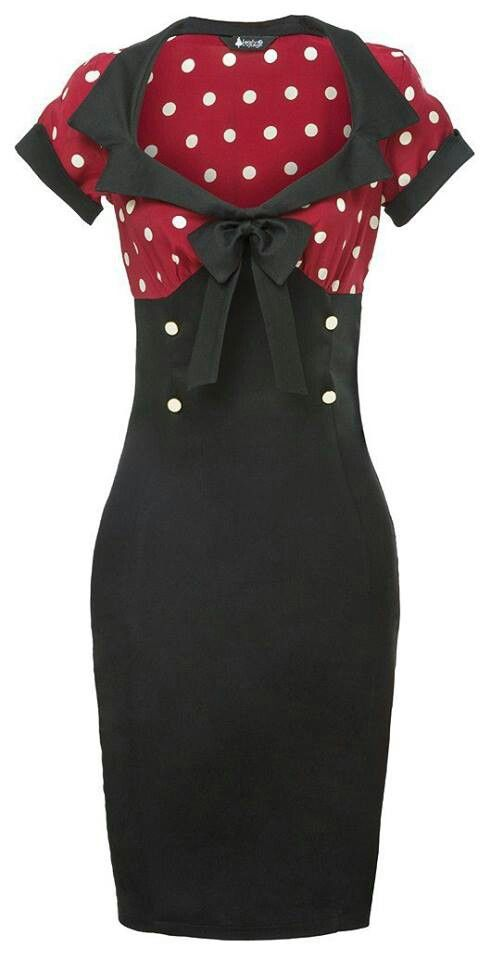 Pin up Dress love it in red and white :D