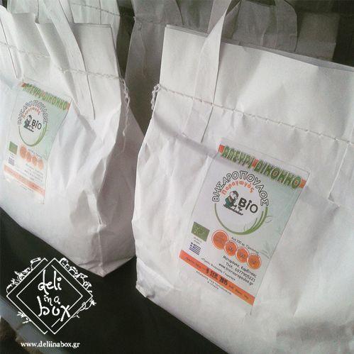www.deliinabox.gr Organic dicoccum flour from zea