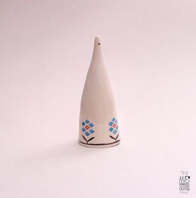 #6, M porcelain pendant, h:15cm - NOT AVAILABLE