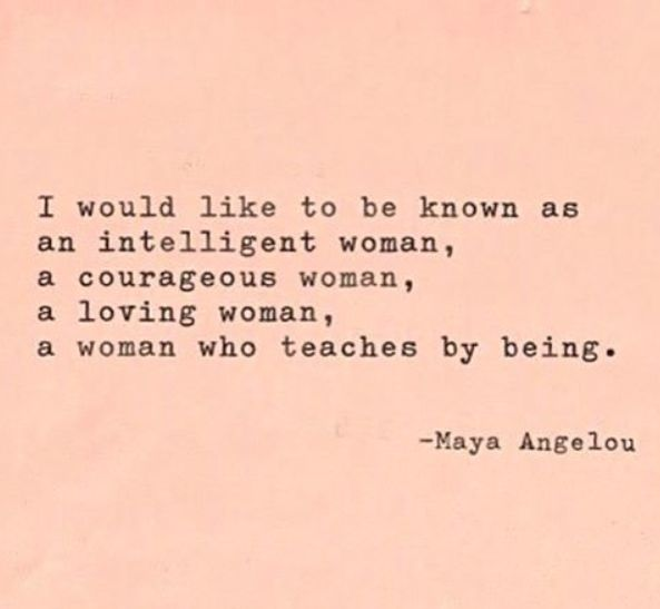 Maya Angelous Quote