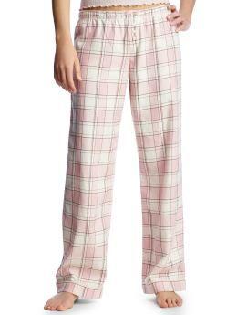 Women s Clothing Women s Clothing Plaid flannel pajama pants ...