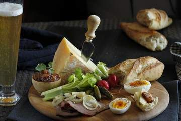 Ploughman's lunch - England