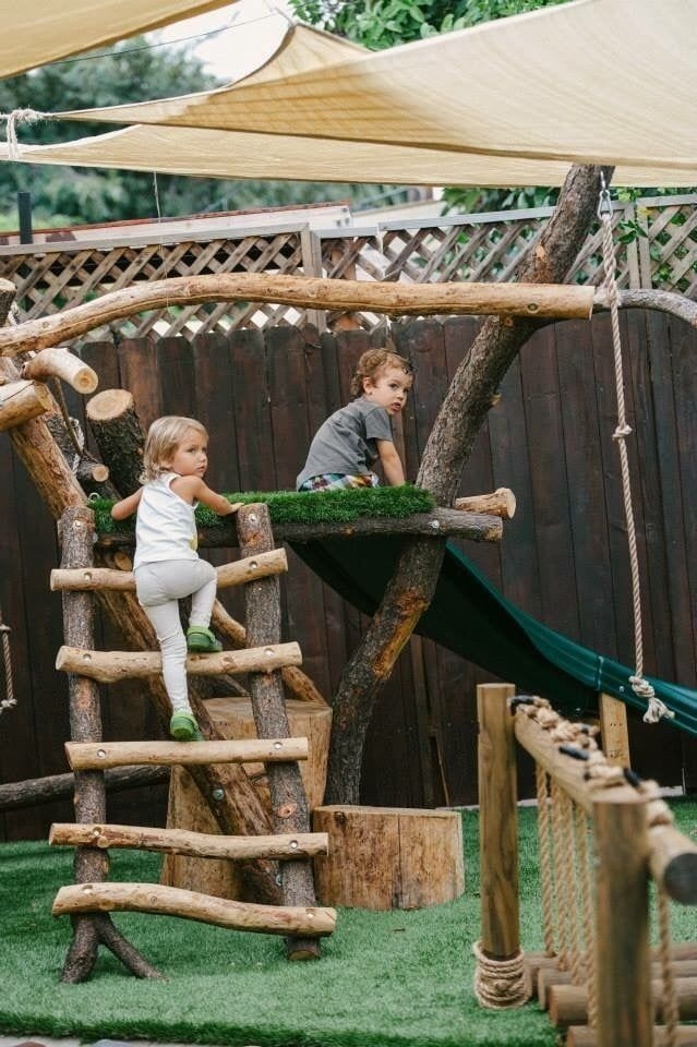 pure supplies natural strains: playset that's nearer to nature.