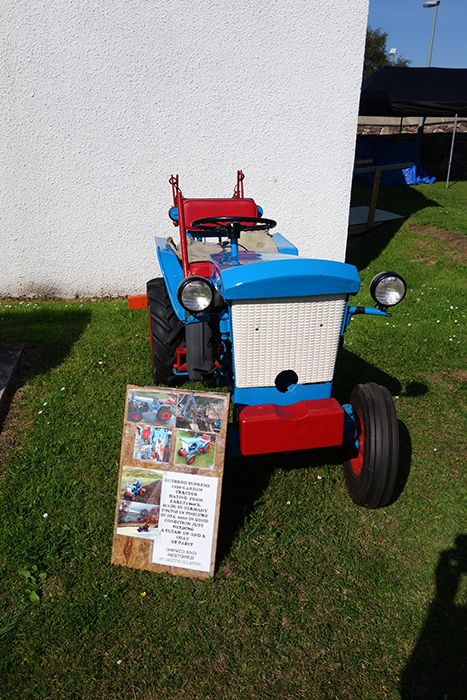 Garden Tractor - Gutbrod, early 1950s