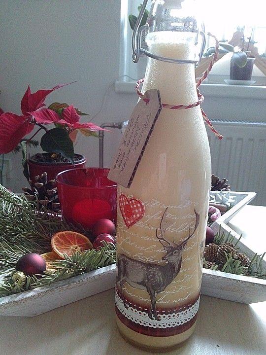 Vanille - Eierlikör, ein schönes Rezept aus der Kategorie Likör. Bewertungen: 129. Durchschnitt: Ø 4,6.