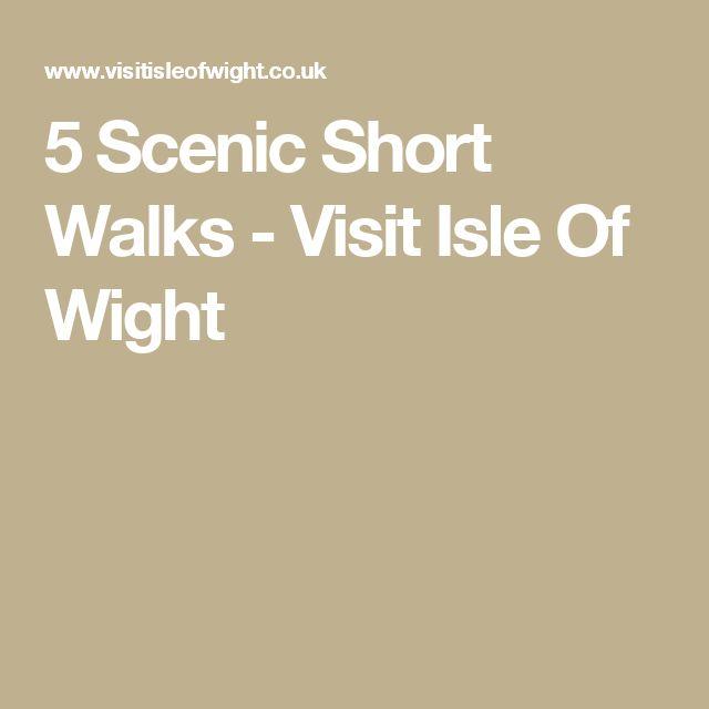 5 Scenic Short Walks - Visit Isle Of Wight