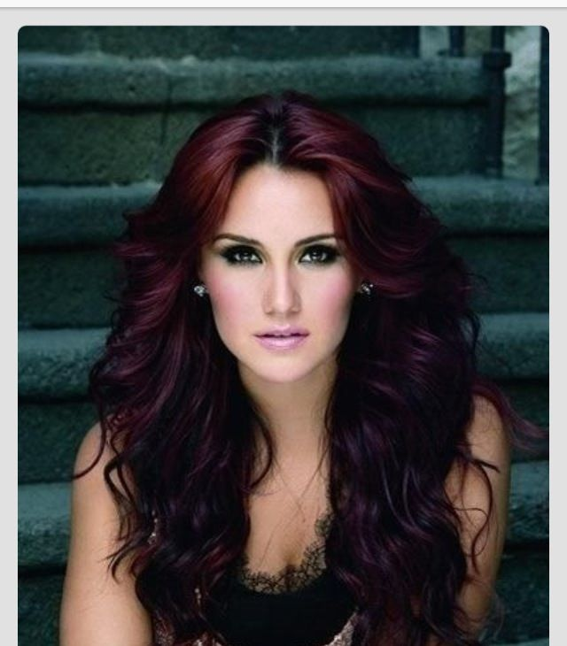73 Best Images About Hair On Pinterest  Dark Violet Hair Curls And Hair Col