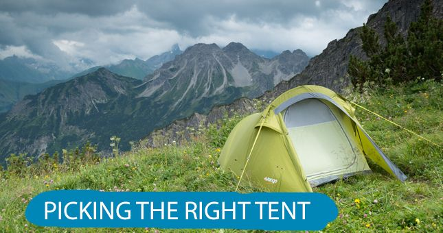 How to Choose Your Backpacking Tent Choosing the right backpacking tent involves the following key decision points: Capacity: likely number of sleepers Seasonality: tent construction relative to expected weather conditions Weight: ounces carried vs. dollars spent Livability: comfort and convenience based on design and features Other considerations include ease of tent setup and tent materials. Also dont forget the footprint often sold separately that goes under your tent floor to protect it…