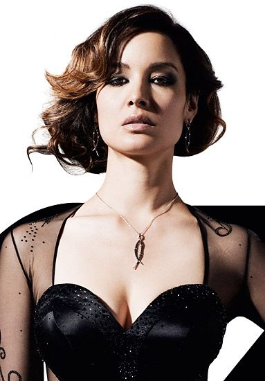 007 James Bond Girl 2012 Skyfall: Bérénice Marlohe (33-year-old Parisian tv actress)
