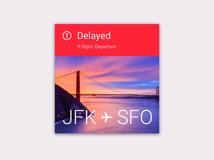 Delayed—On Time, Google Material // by Jorn van Dijk // Made with FramerJS