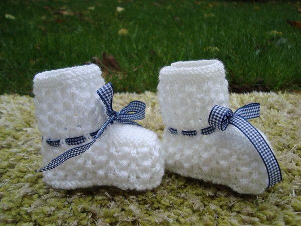 Modèle chaussons bébé