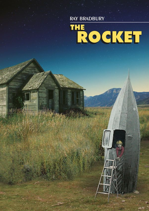 The Rocket/Ray Bradbury/ illustration by Običan Crtač