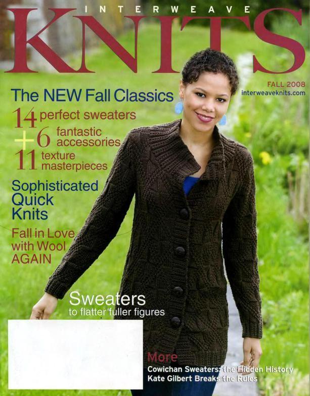 Interweave Knits 2008(5 номеров)+Crochet (Su+F+Sp+W) ww1123_1