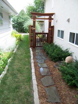 8 best images about ideas for the house on pinterest arbors trellis arches and wood privacy fence - Rustic wood fences a pastoral atmosphere ...