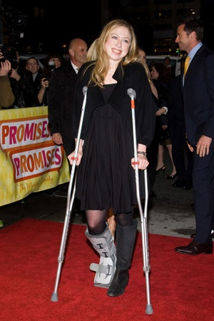 Chelsea Clinton could have been red carpet ready in our designs
