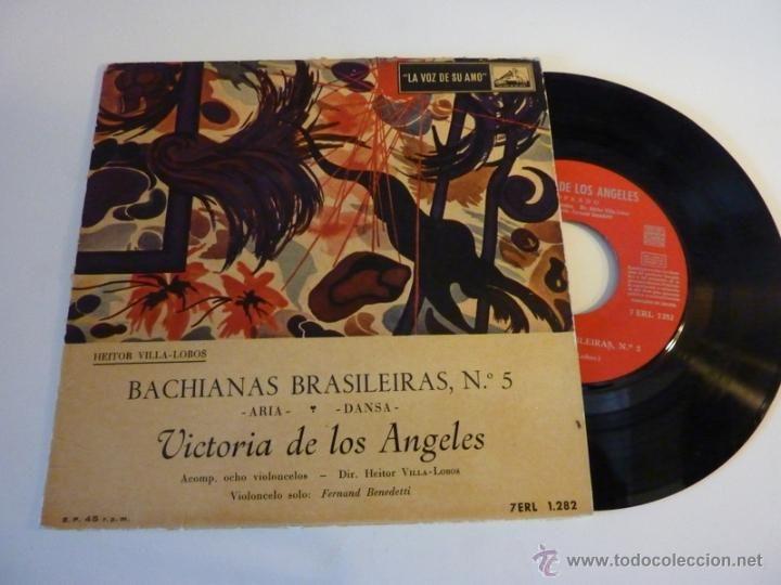 Heitor Villa-Lobos, Victoria De Los Angeles, 1959, Bachianas Brasileiras Nº5