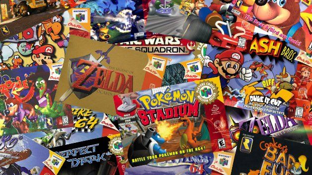 Play Nintendo 64 (aka N64) Games Online ➤ Super Mario 64, Zelda Ocarina of Time, Super Smash Brosh., Mario Kart 64 and many others directly in your Browser!