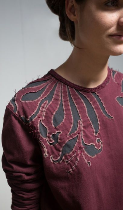 DIY unisex magdalena shirt // Alabama Chanin