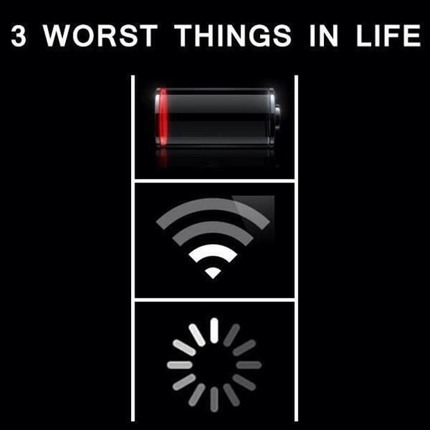 3 worst things in life
