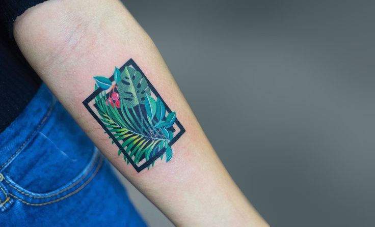 17 ideas about tropical tattoo on pinterest color for Tropical themed tattoos