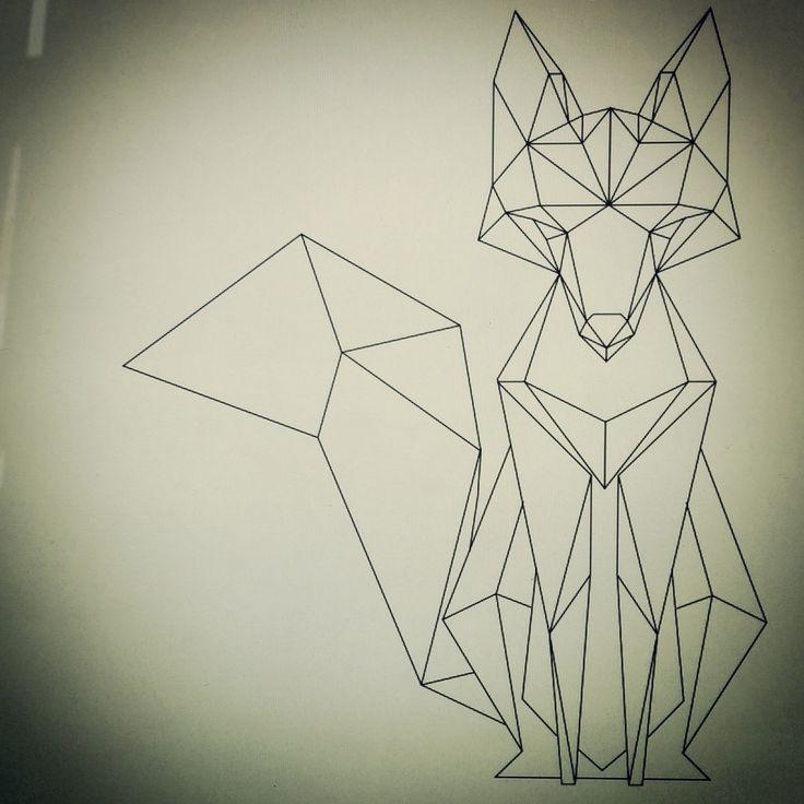 Geometric fox - Imgur