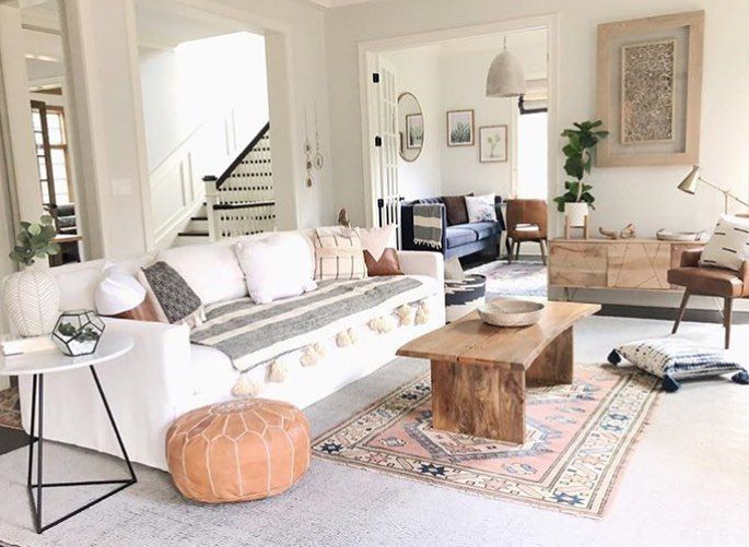 Nothing Shy Of Perfection This Gorgeous Space Belongs To Reem Reems Refined Design There Plain Rugs Beautiful Living Rooms Living Dining Room