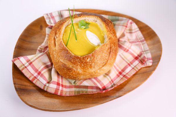 the chew | Recipe | Michael Symon's Curried Butternut Squash Soup