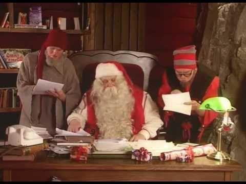 Babbo Natale & il segreto degli elfi di Babbo Natale - Lapponia - Finlandia - Rovaniemi - YouTube