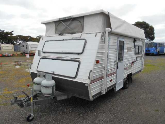 Coromal Seka 1992, 17ft,  roll out awning, full annexe, annexe floor matting, shade side, brand new roof top reverse cycle air conditioning, front kitchen with gas cook top and oven, range hood, microwave, 3 way fridge, central L shaped dine area, rear single beds, towing aids, few spare parts, new tyres, bearings recently checked. Solar on roof, 2 x 120amp deep cycle batteries. Ready to tow away! Mass: 1000 ATM: 1290.   - Sale Includes One Months Free Storage -   ...