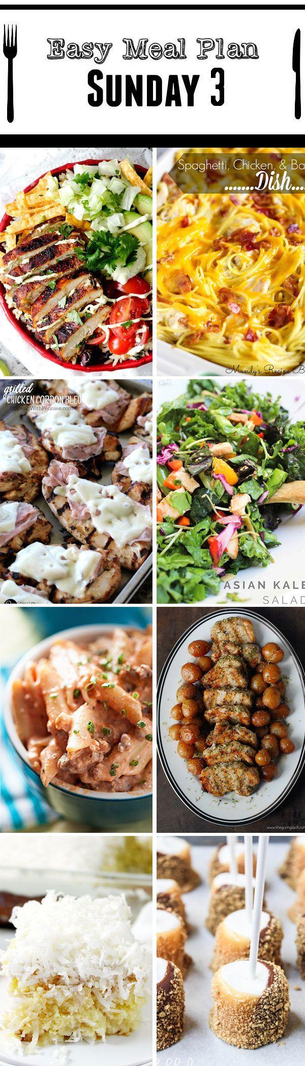 Easy Meal Plan Sunday #3   mandysrecipeboxblog.com