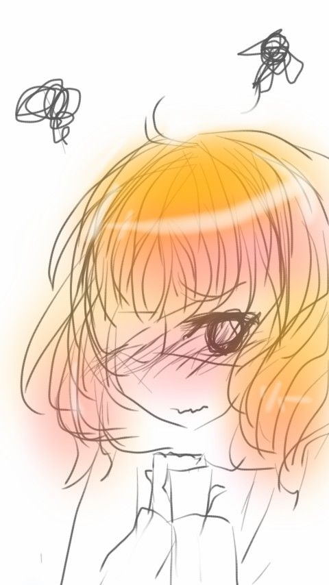 I draw with autodesk sketchbook on mu phone..~