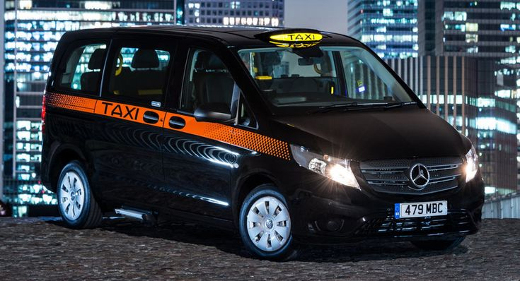 New Mercedes-Benz Vito Taxi Reporting For Duty In London