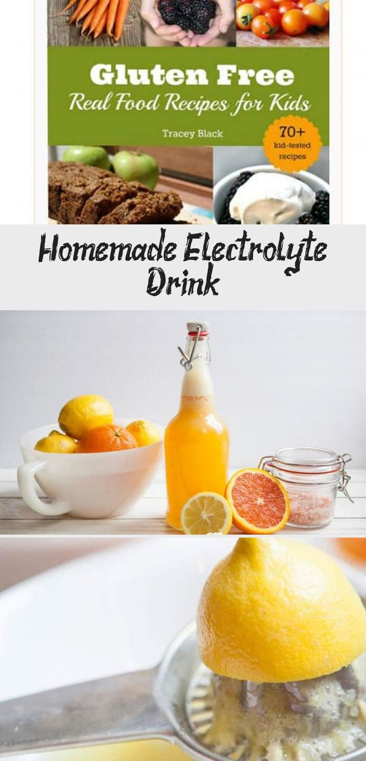 Homemade Electrolyte Drink Natural Sports Drink health