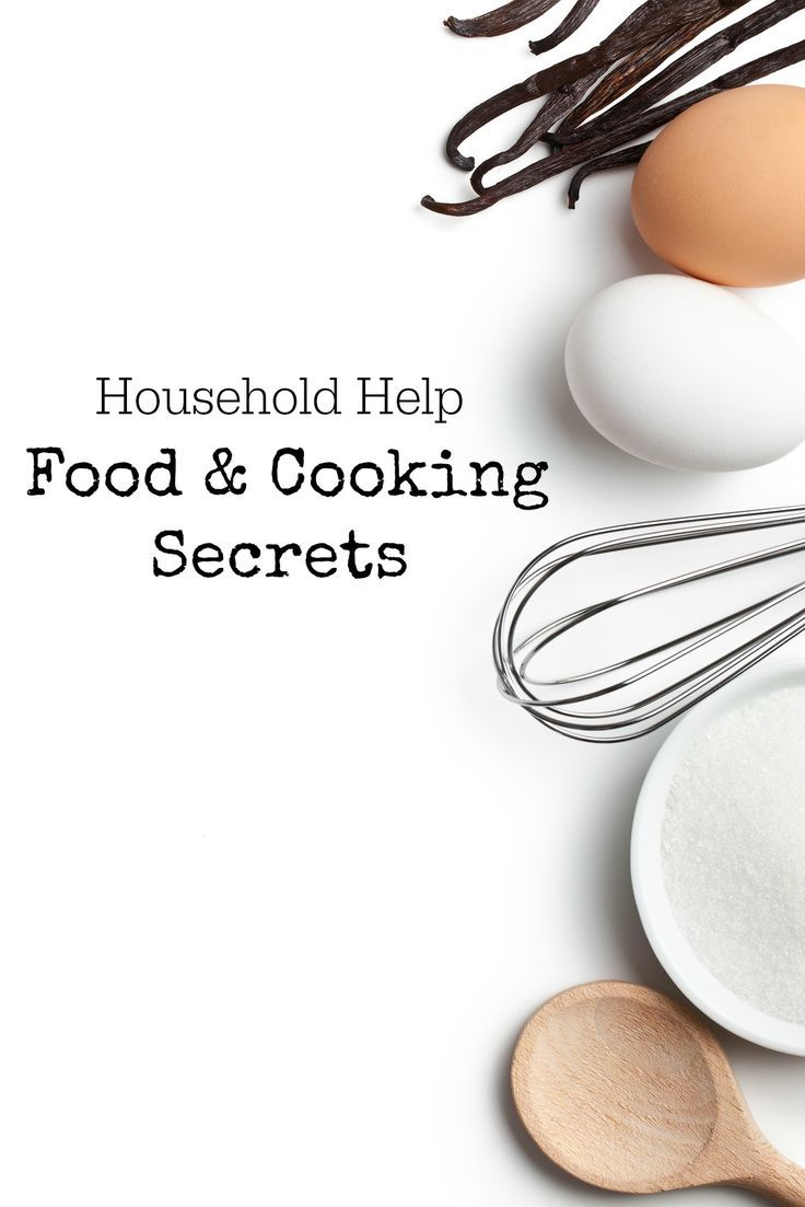 Household Help, Food and Cooking Secrets #IntuitionSimplicityCurveContest